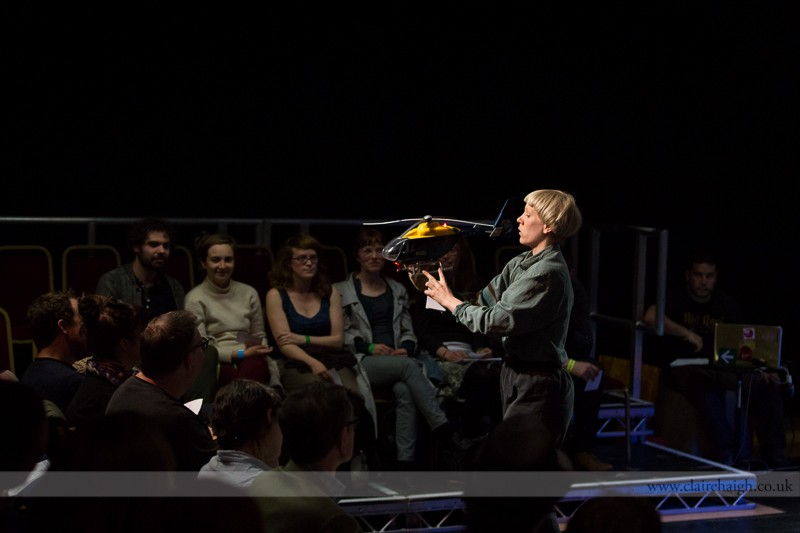 Greg Mclaren. Symphony for Audience and Performer. Cambridge Junction, Sampled Festival, May 2013.