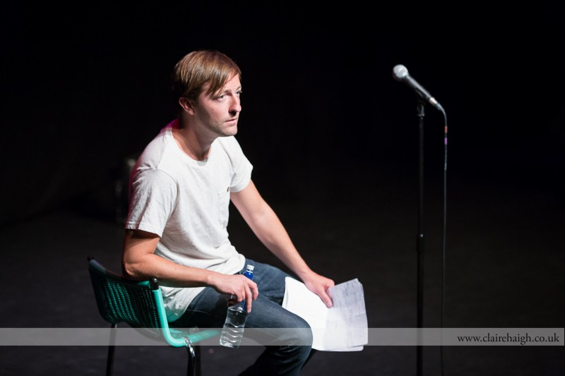 Andrew Maxwell performing at the Cambridge Junction as part of the Cambridge Comedy Festival.