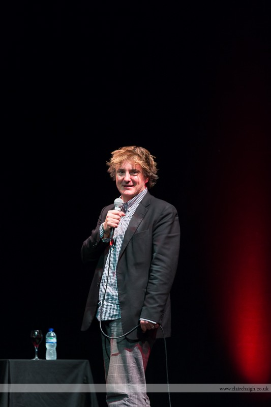 Dylan Moran performing at Cambridge Corn Exchange as part of the Cambridge Comedy Festival, July 2013.
