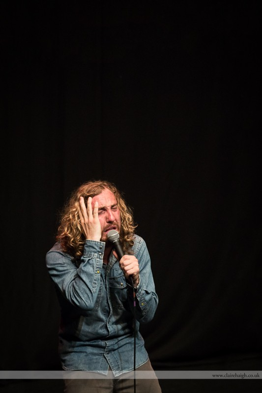 Seann Walsh performing at Cambridge Junction as part of the Cambridge Comedy Festival, 19 July 2013.