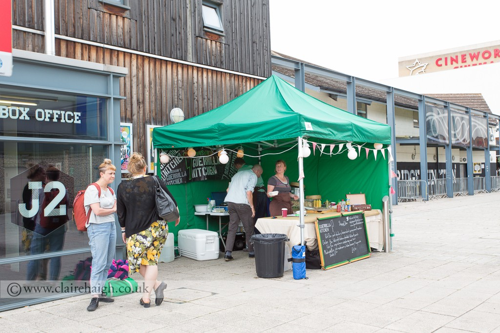 Guerrilla Kitchen at Cambridge Junction during Night Watch Festival, June 2014