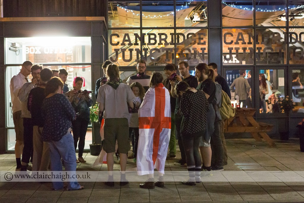 Night Watch Festival at Cambridge Junction, July 2014
