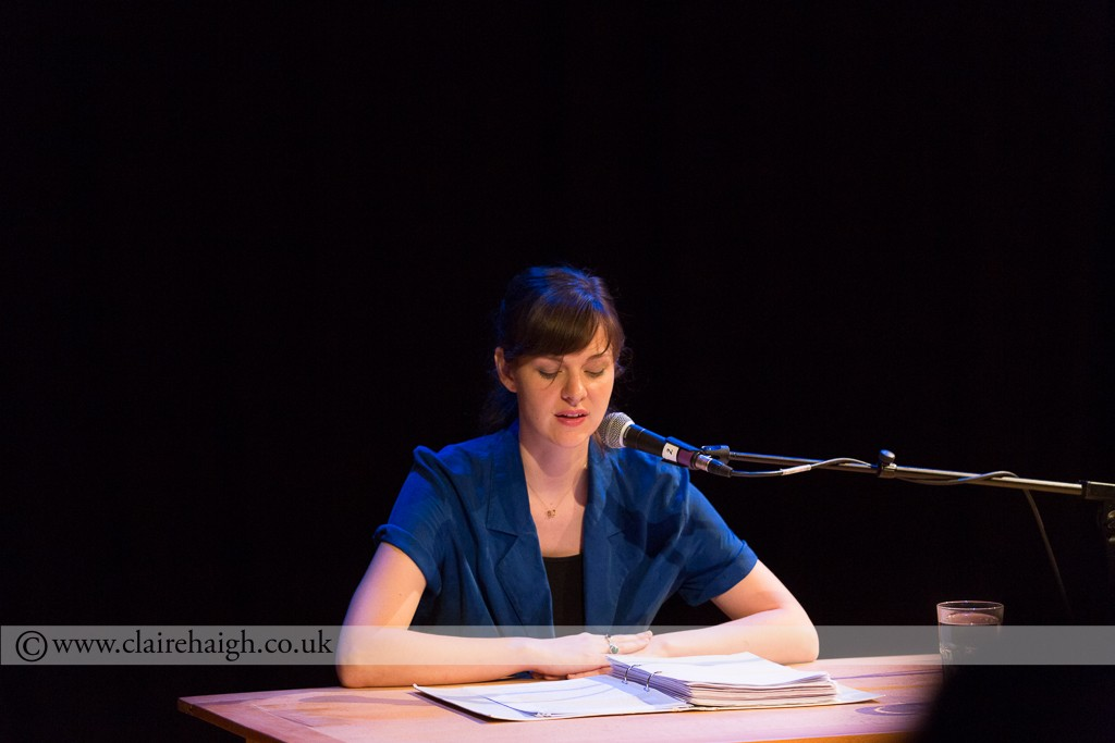 Deborah Pearson at Night Watch Festival at Cambridge Junction, July 2014