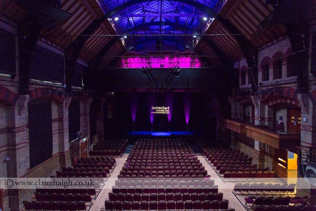 Cambridge Corn Exchange at Comedy Festival Launch, July 2014