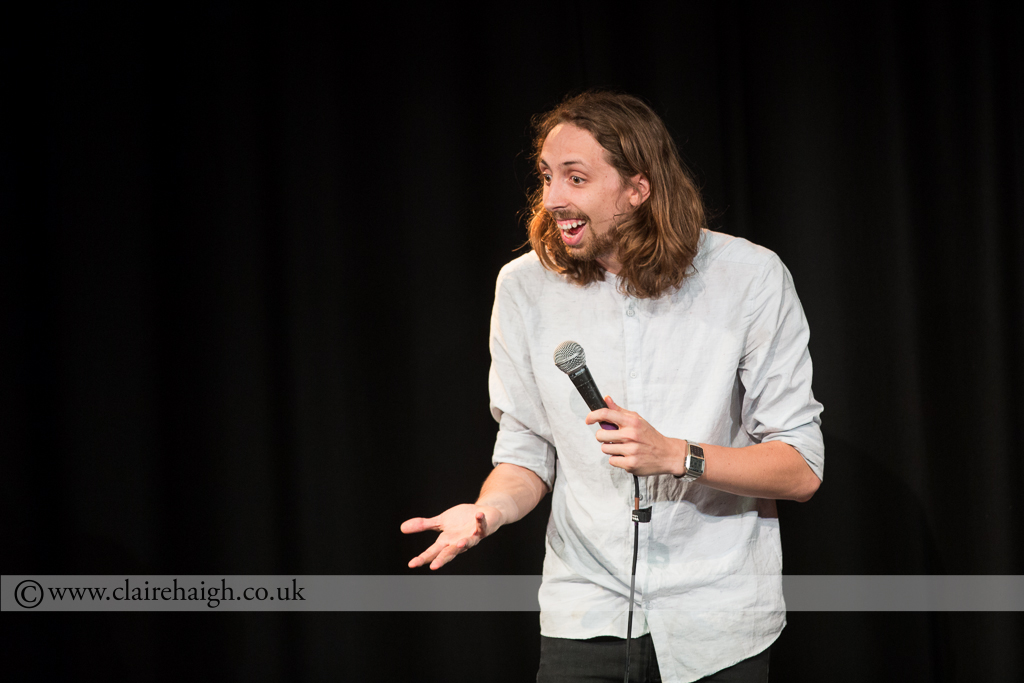 Eric Lampaert at Cambridge Comedy Festival, Cambridge Junction July 2014