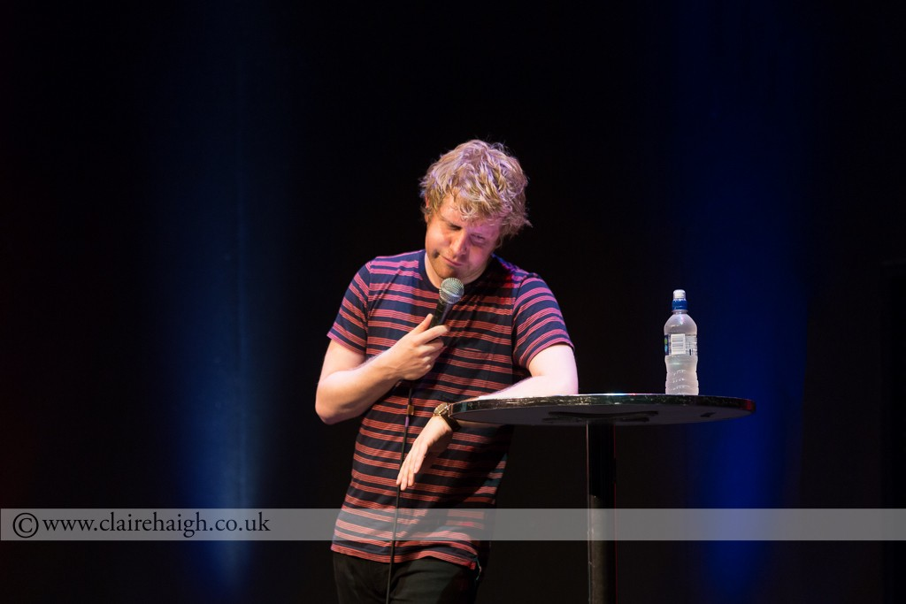 Josh Widdicombe at Cambridge Comedy Festival, Cambridge Junction, July 2014