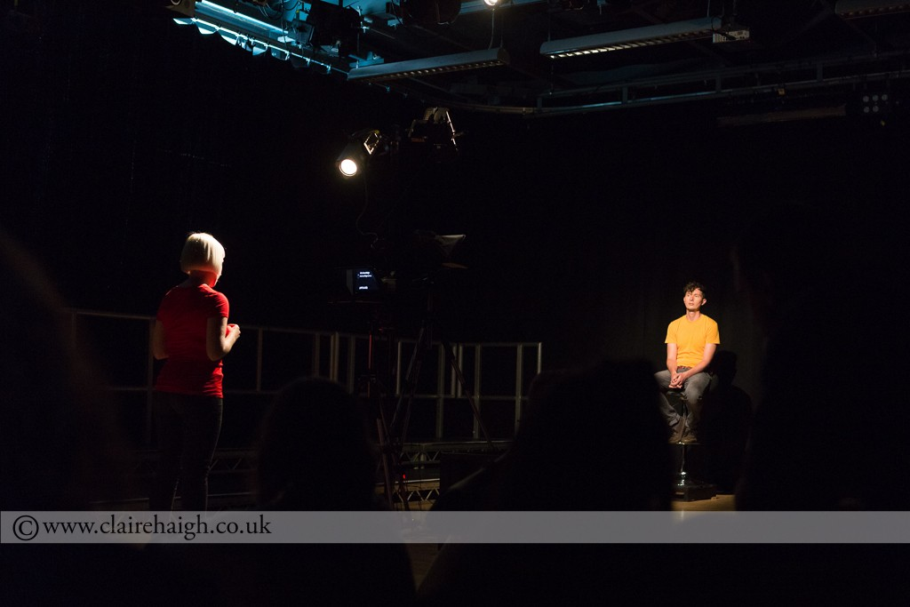 Slap Talk by Last Action Hero. Part of the Night Watch Festival at Cambridge Junction, June 2014