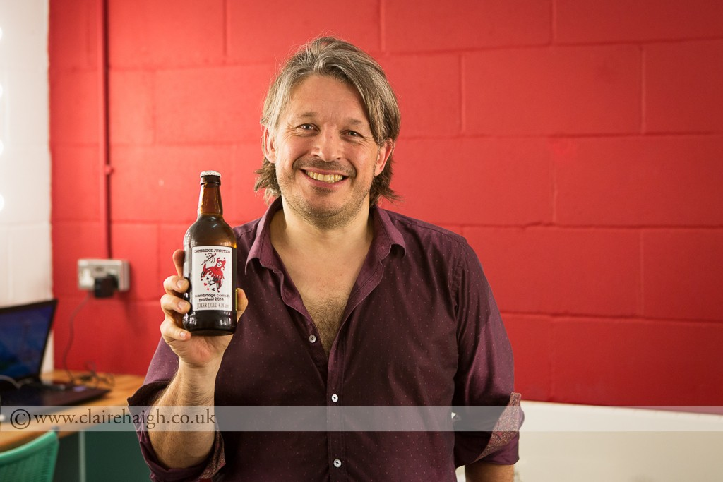 Richard Herring at Cambridge Comedy Festival, Cambridge Junction, July 2014