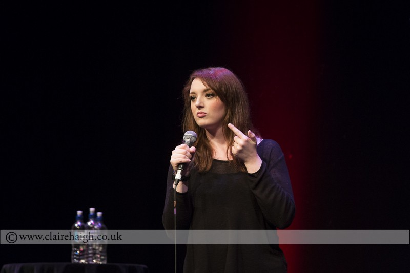 Fern Brady at the Cambridge Comedy Festival, Cambridge Junction, July 2014