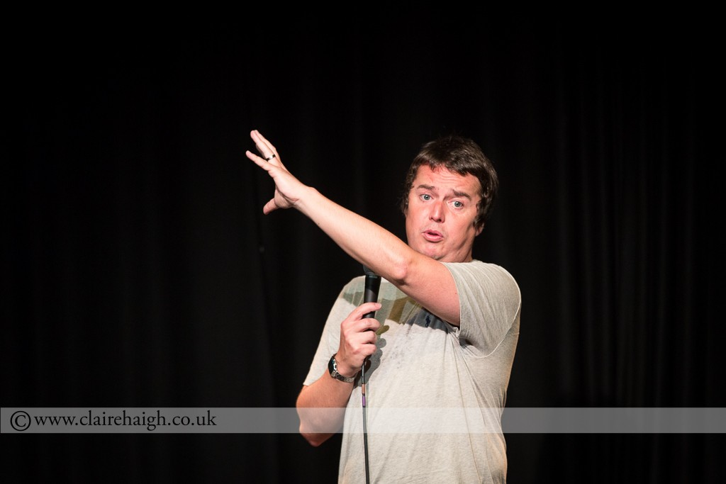 Paul McCaffrey at Cambridge Comedy Festival, Cambridge Junction, July 2014