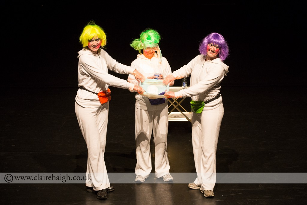 Figs in Wigs at Cambirdge Junction as part of Night Watch Festival, June 2014