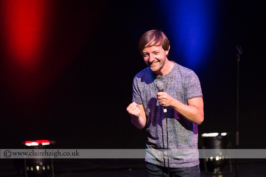 Andrew Maxwell at Cambridge Comedy Festival, Cambridge Junction July 2014