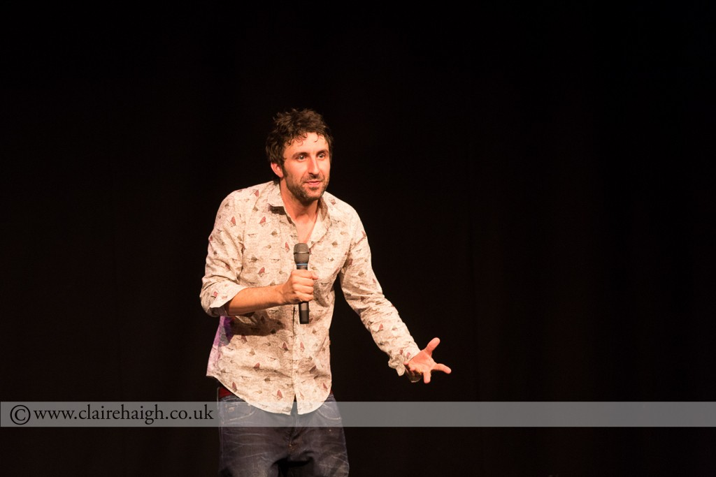 Mark Watson at Cambridge Comedy Festival, Cambridge Junction, July 2014