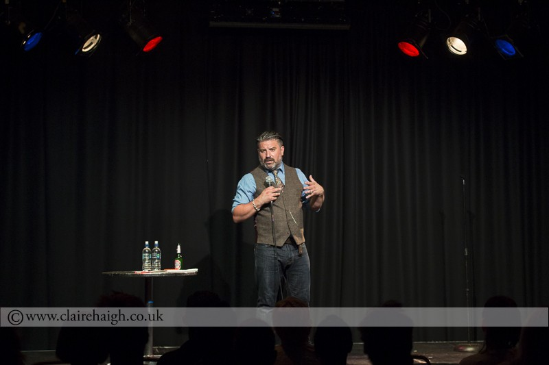 Rich Wilson at the Cambridge Comedy Festival, Cambridge Junction, July 2014