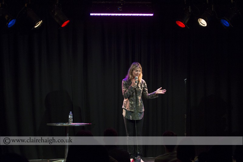 Jo Caulfield at Cambridge Comedy Festival, Cambridge Junction, July 2014