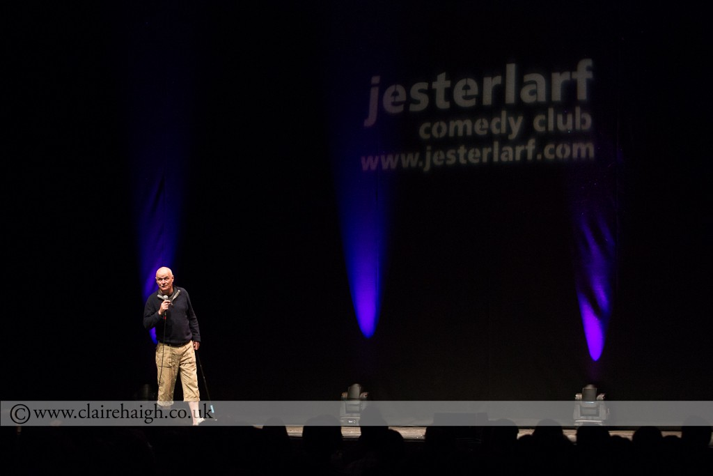 Dave Johns at Cambridge Corn Exchange during The Comedy Festival, July 2014