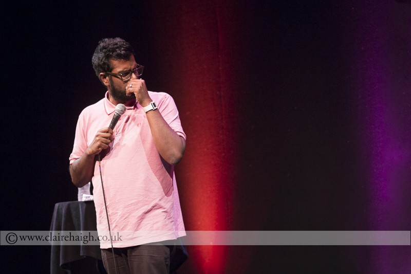 Romesh Ranganathan at Cambridge Comedy Festival, Cambridge Junction, July 2014
