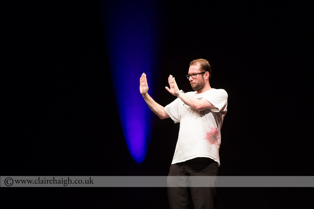 Gary Delaney at Cambridge Corn Exchange during The Comedy Festival, July 2014