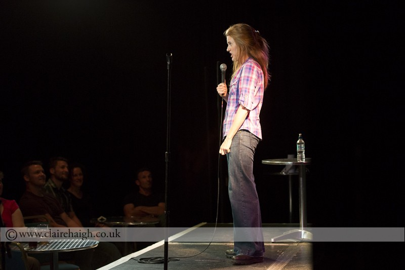 Sarah Kendall at Cambridge Comedy Festival, Cambridge Junction, July 2014