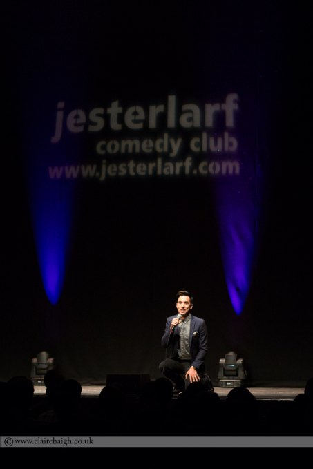 Russell Kane at Cambridge Corn Exchange during The Comedy Festival, July 2014