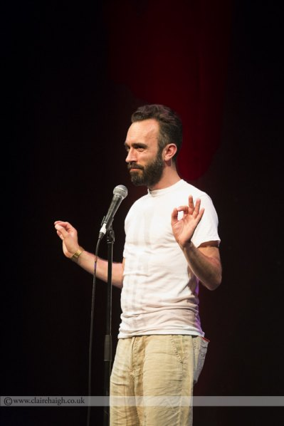 Tom Webb at Cambridge Comedy Festival, Cambridge Junction, July 2014