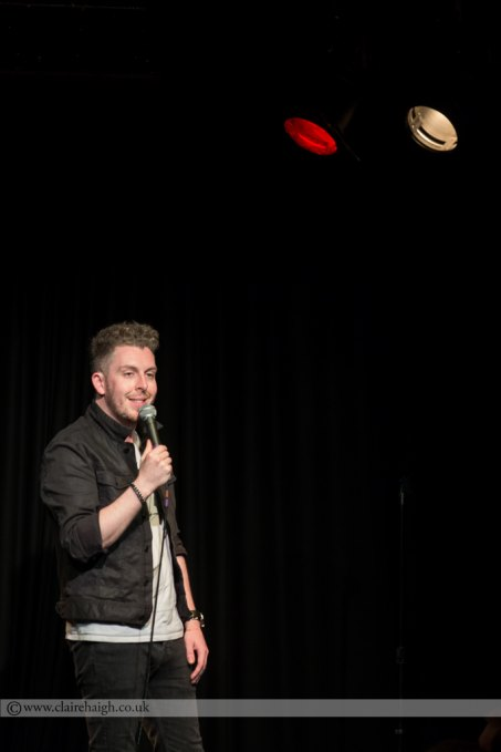 Carl Donnelly at Cambridge Comedy Festival, Cambridge Junction, July 2014