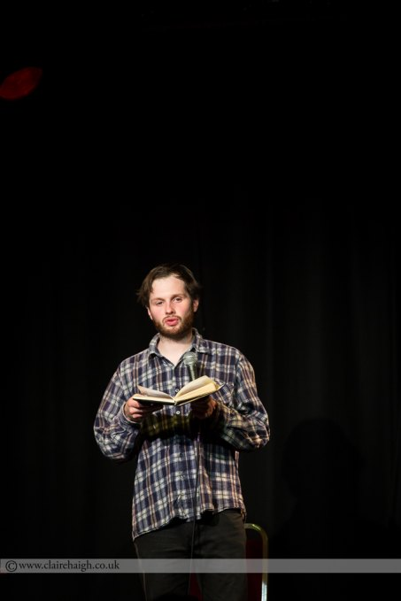 Liam Williams at Cambridge Comedy Festival, Cambridge Junction July 2014