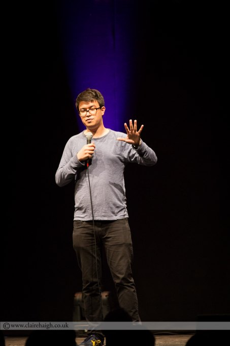Phil Wang at Cambridge Corn Exchange at The Comedy Festival, July 2014