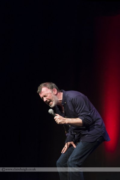 Tommy Tiernan at Cambridge Comedy Festival, Cambridge Junction, July 2014