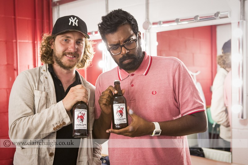 Seann Walsh and Romesh Ranganathat at Cambridge Comedy Festival, Cambridge Junction, July 2014