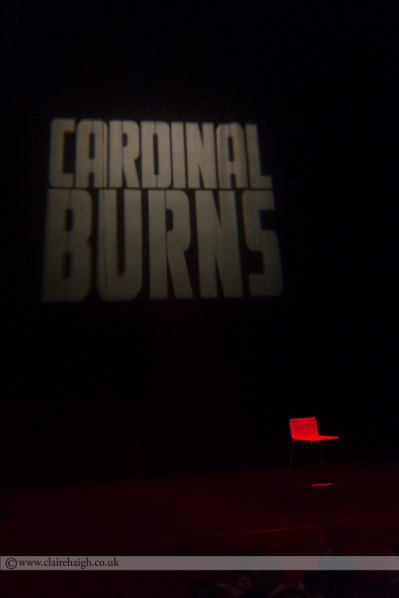 Cardinal Burns at Cambridge Junction, October 2014