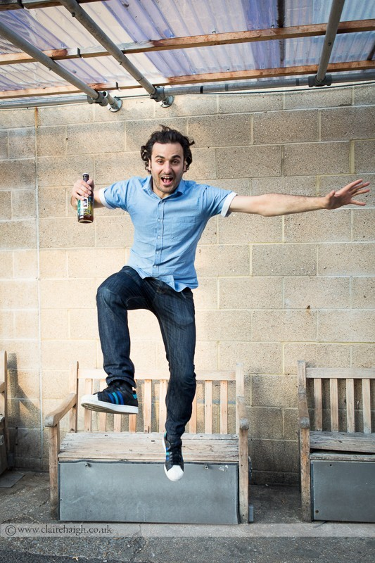 Patrick Monahan at Cambridge Junction as part of the Cambridge Comedy Festival
