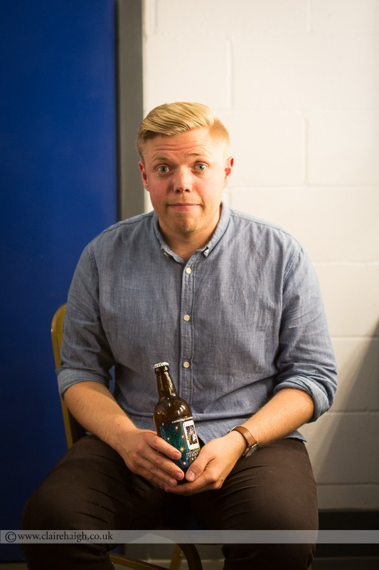 Rob Beckett at Cambridge Junction as part of the Cambridge Comedy Festival