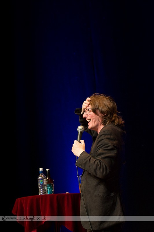 Ed Byrne performing at Cambridge Junction as part of the Cambridge Comedy Festival
