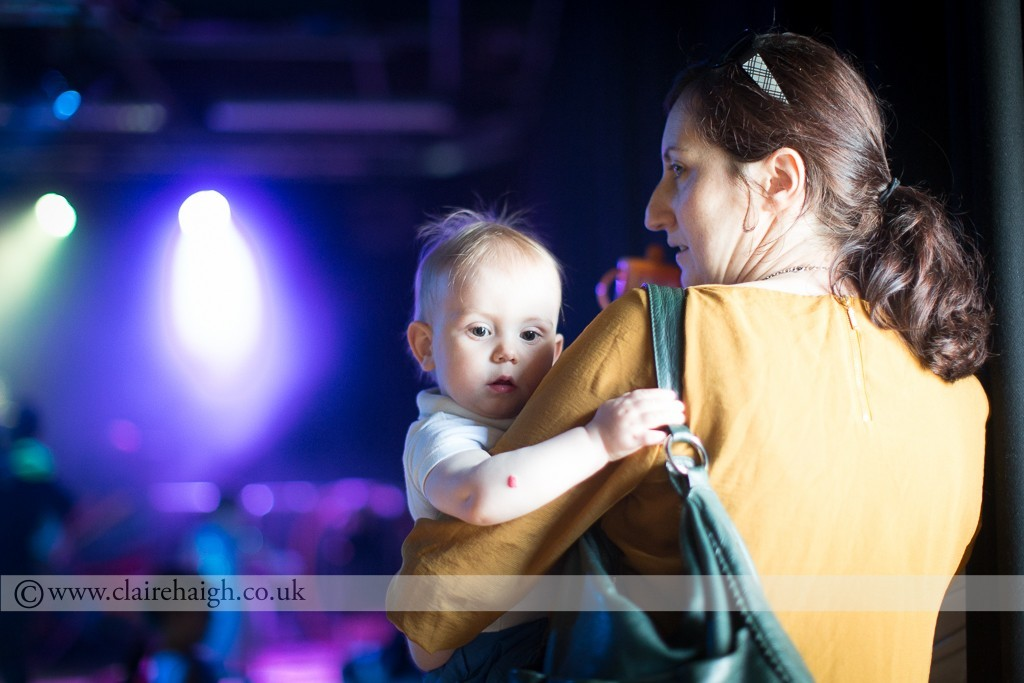Baby Rave at Cambridge Junction, September 2015