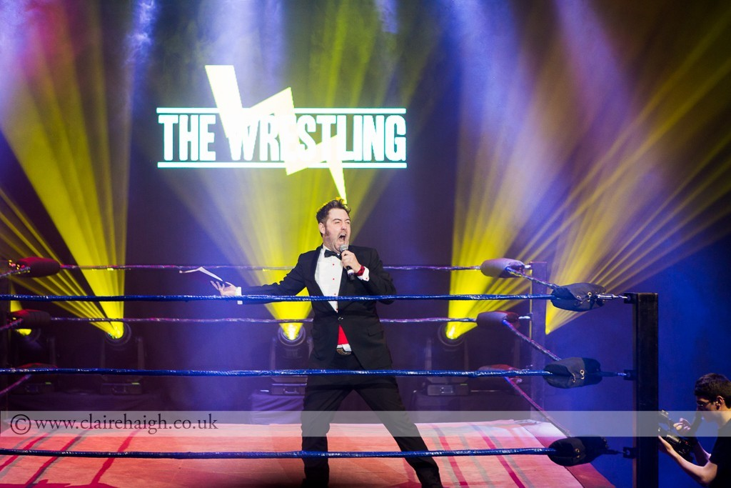 Nick Helm at The Wrestling, Pleasance 2015