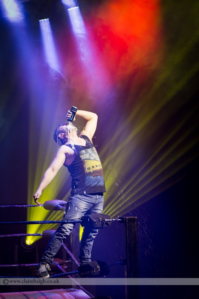 Brendon Burns at The Wrestling, Pleasance 2015