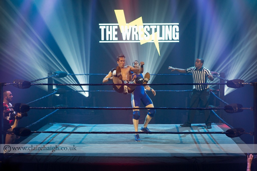 Max and Ivan's grudge match at The Wrestling, Pleasance 2015