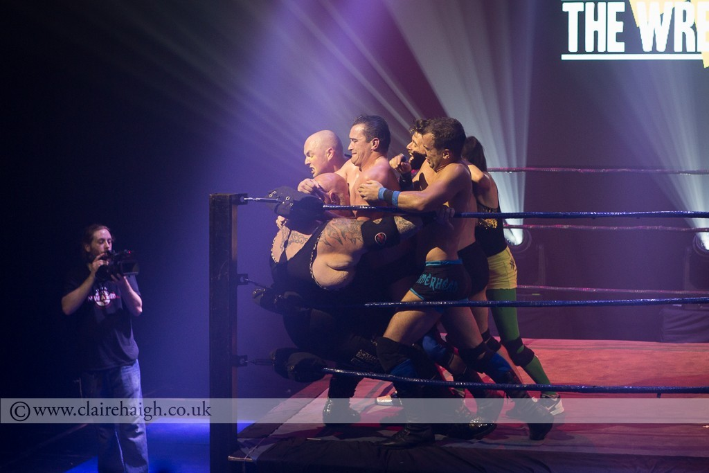 Attacking the Bulk at The Wrestling, Pleasance 2015