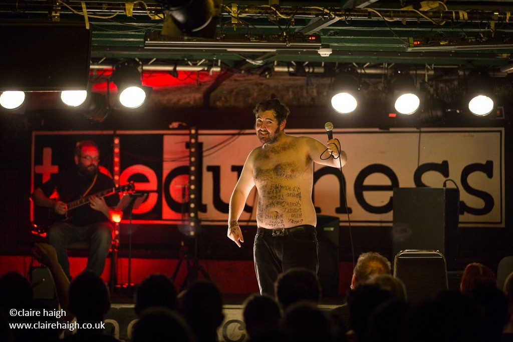 Nick Helm performing in his Masterworks in Progress show at the Duchess, York.